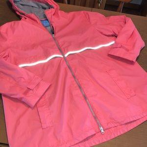 CHARLES RIVER Lined Full Zip Golf Rain Jacket 3XL
